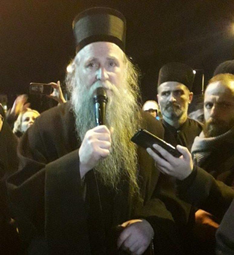 Vladika Joanikije Protest