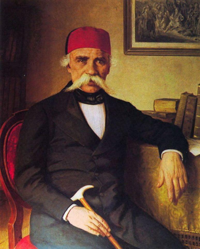 Портрет Вука Караџића