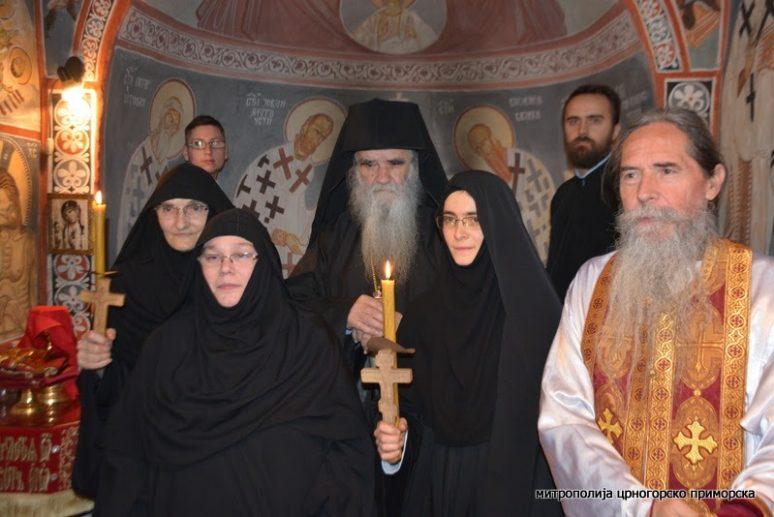 Монашење у манастиру Свете Матроне у Доњем Грбљу