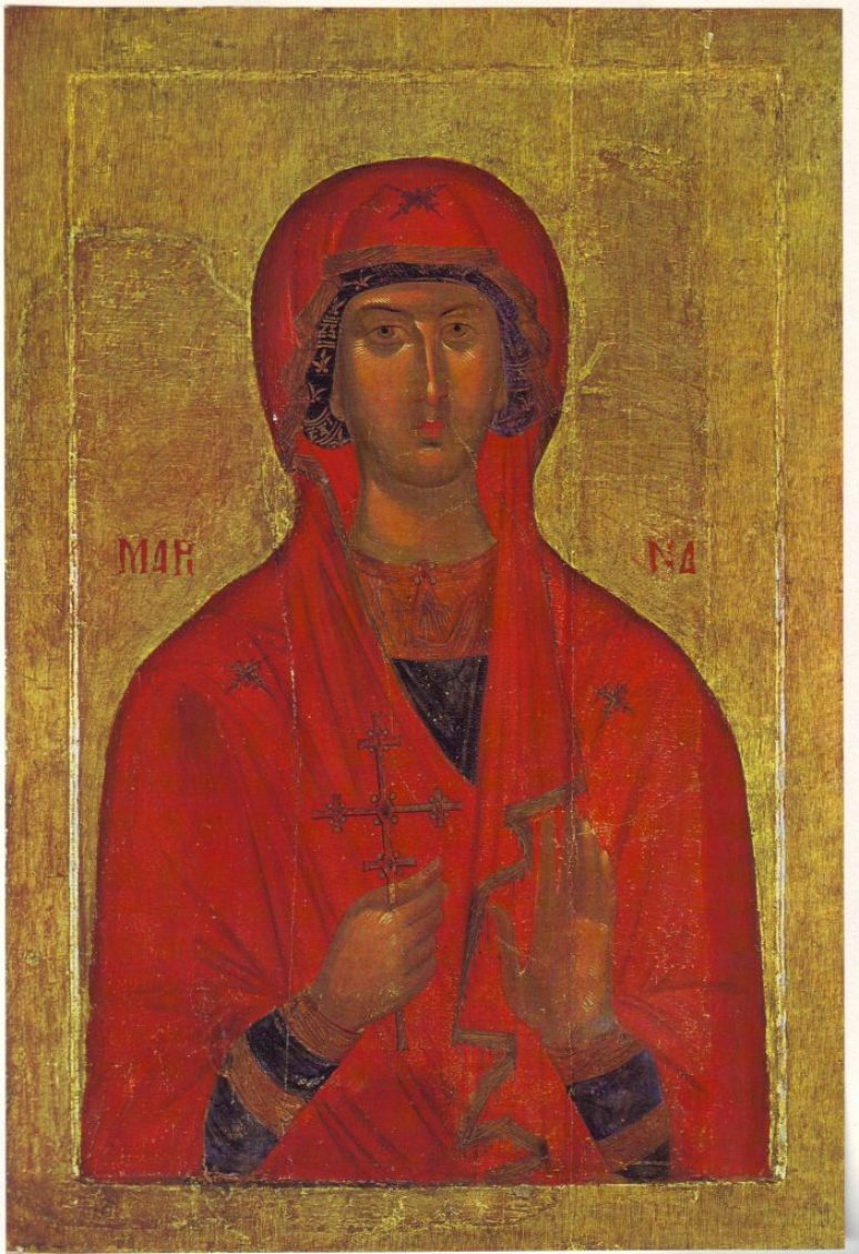 Saint Marina Icon