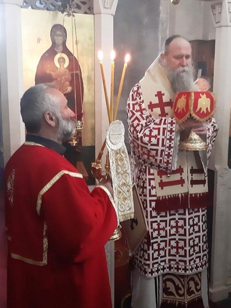 Mar 2020 Arhijerejska Liturgija Na Siropusnu Nedjelju U Djurdjevim Stupovima 5