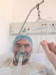 Sveštenik Nenad Andrić govori o svojoj borbi sa korona virusom