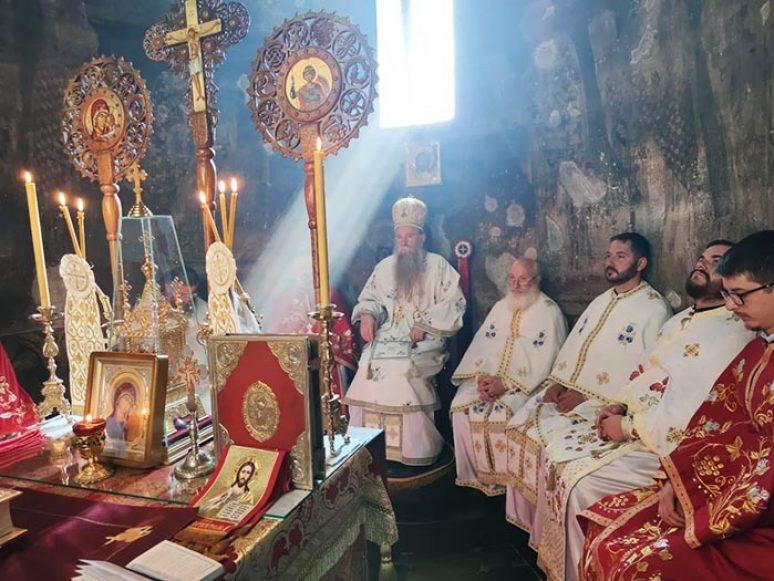 Arhijerejska Liturgija I Rukopolaganje U Djurdjevim Stupovima