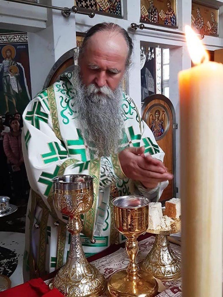 Arhijerejska Liturgija Na Duhovski Utorak U Goliji