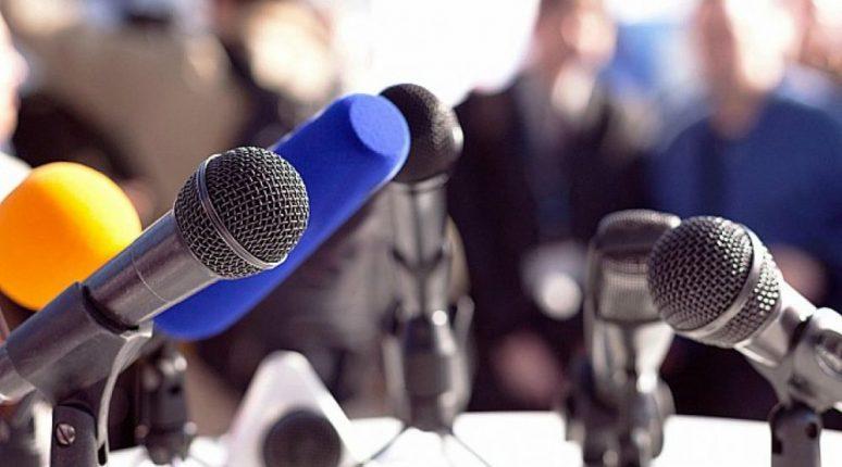 Mikrofoni Govornica Novinari