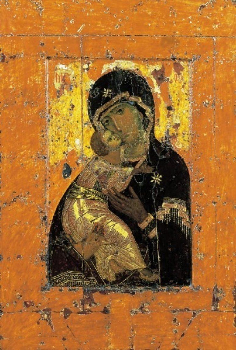 Čudotvorna Ikona Bogorodica Vladimirska Pokroviteljka I Zaštitnica Rusije