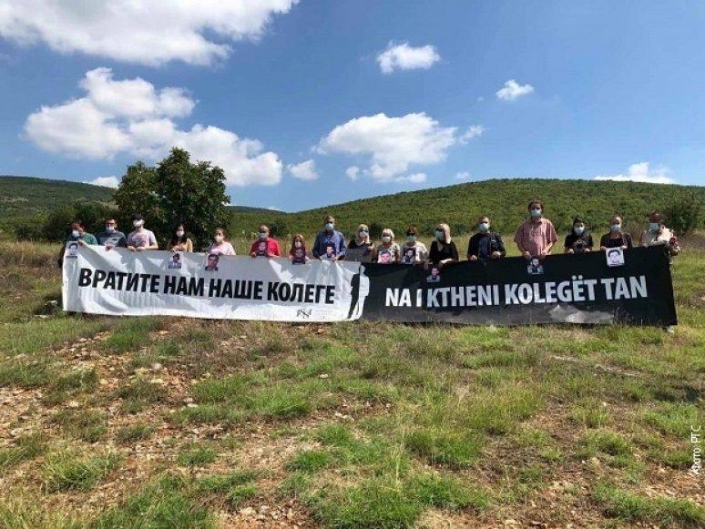 Obeležena 22. godišnjica otmice novinara kod Orahovca