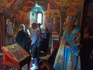 Arhijerejska Liturgija I Osvecenje Freskopisa U Bliskovi