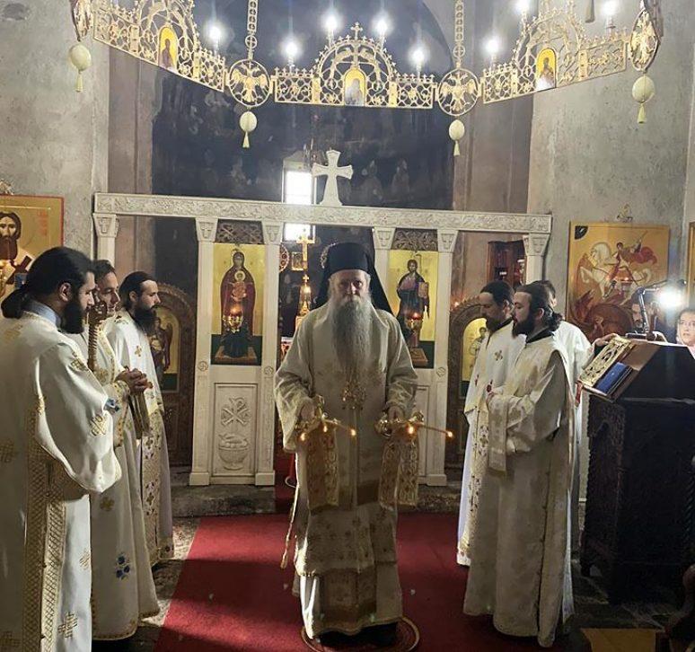 Arhijerejska Liturgija Na Prenos Mostiju Arhidjakona Stefana U Djurdjevim Stupovima