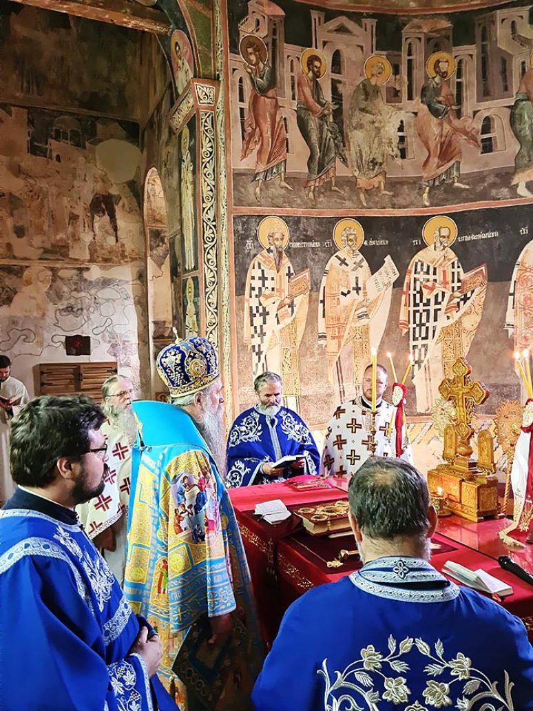 Avg 2020 Arhijerejska Liturgija Na Veliku Gospojinu U Manastiru Piva 4