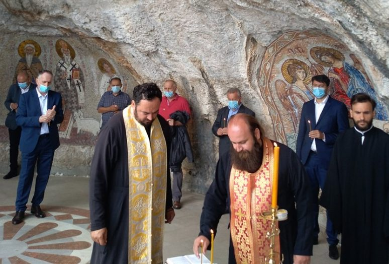 Obelezavanje Oluje 2020 Manastir Ostrog