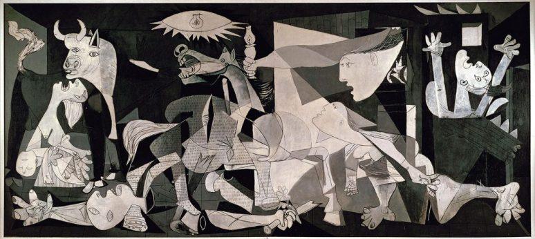 Guernica Canvas Pablo Picasso Madrid Museo Nacional 1937
