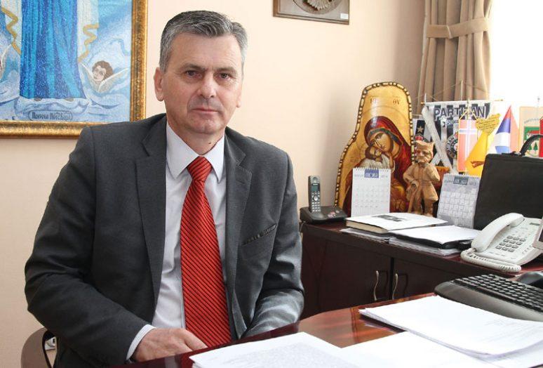 Милан Стаматовић, председник општине Чајетинa фото nspm.rs