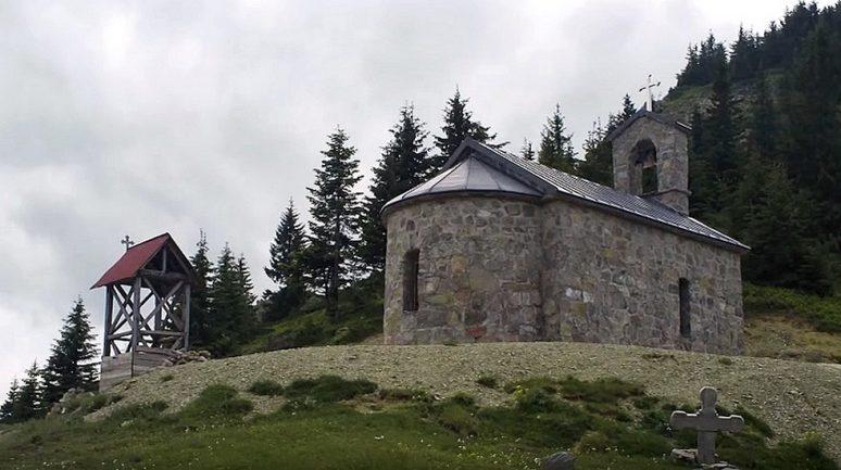 црквa Светих апостола Петра и Павла у величкој планини Ћафи приједолској
