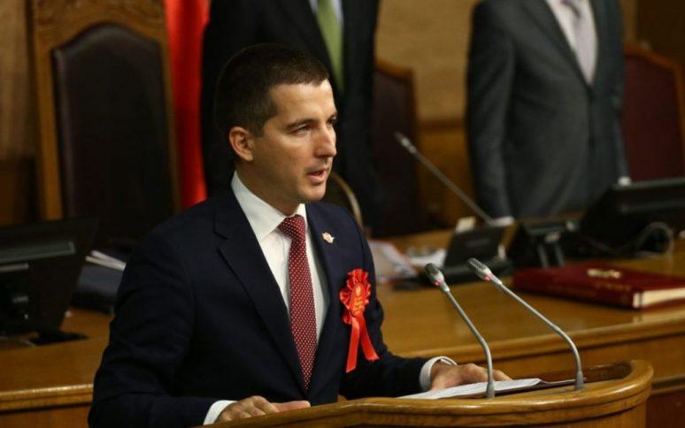 Предсједник Скупштине Алекса Бечић