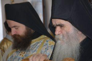 Jeromonah Justin Mrenović i Mitropolit