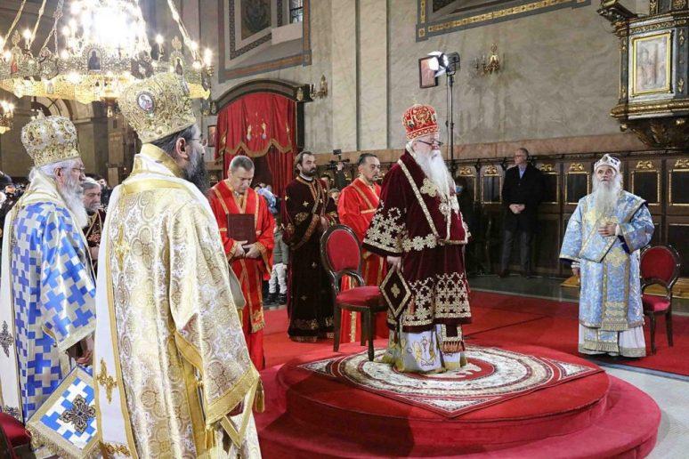 Света Заупокојена Литургија у Саборном храму у Београду
