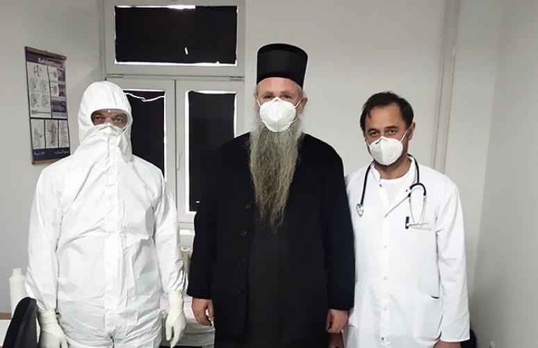 Zdravstveno stanje Episkopa Joanikija
