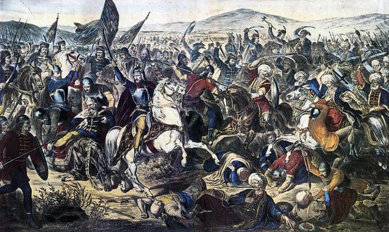 Battle Of Kosovo, Adam Stefanović 1870