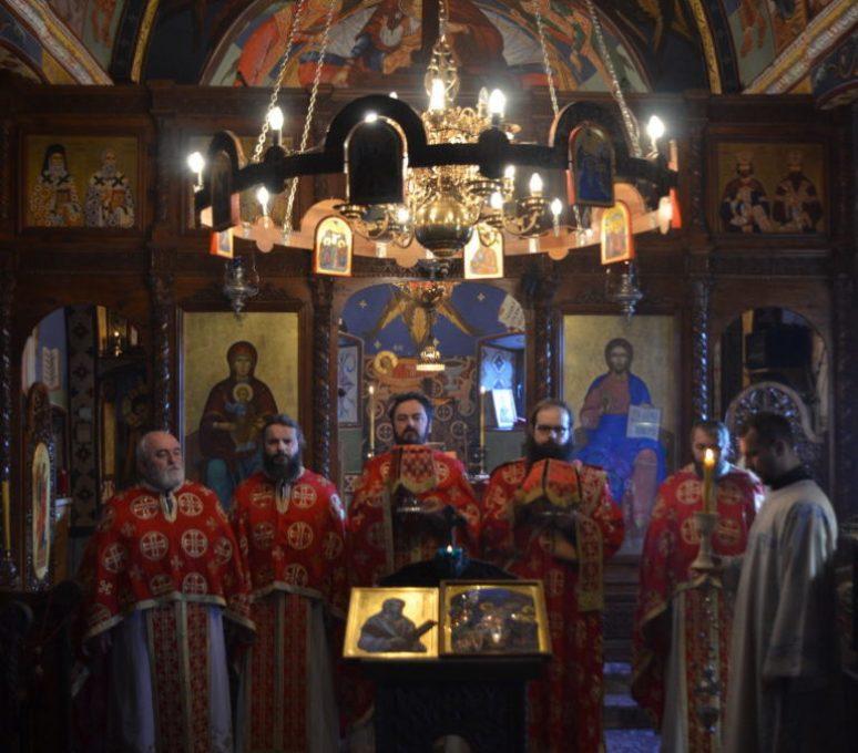 Јеромонах Владимир у Острогу