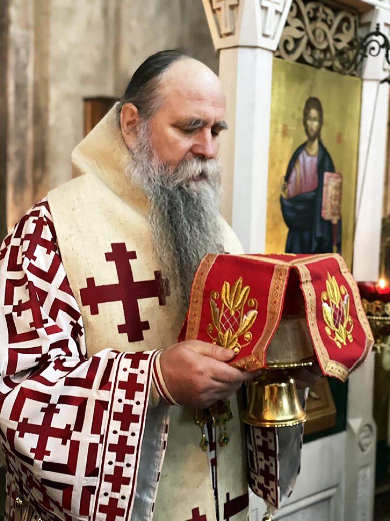 Dec 13 2020 Arhijerejska Liturgija U Djurdjevim Stupovima 1
