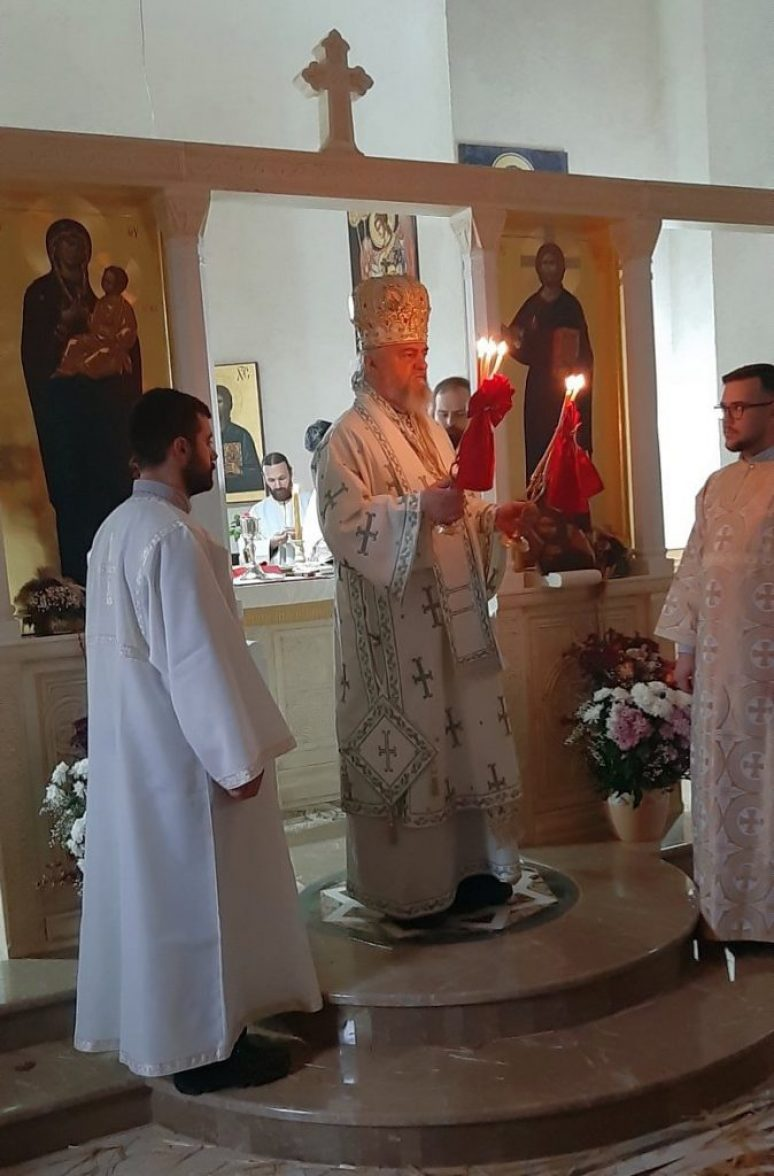 Епископ Кирило на празник Светог архиђакона Стефана богослужио у манастиру Светог луке у Жупи Никшићкој