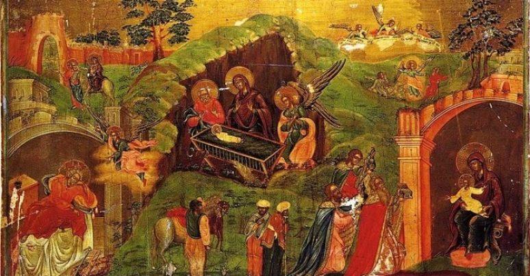Христово. Икона 19 век