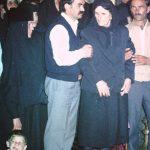 Мајка Милева На хиротонији Сина у Београду 1985
