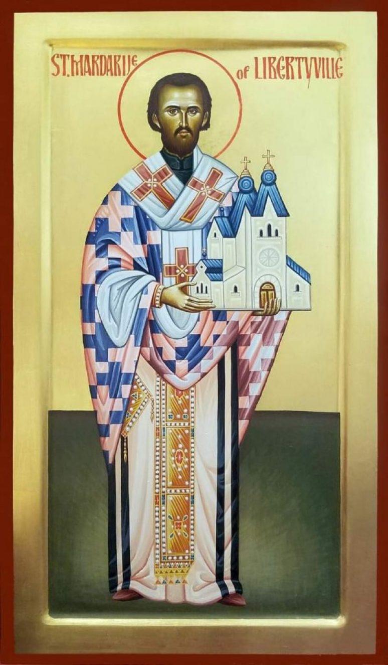 Свети Мардарије Љешанско либертвилиски и свеамерикански икона