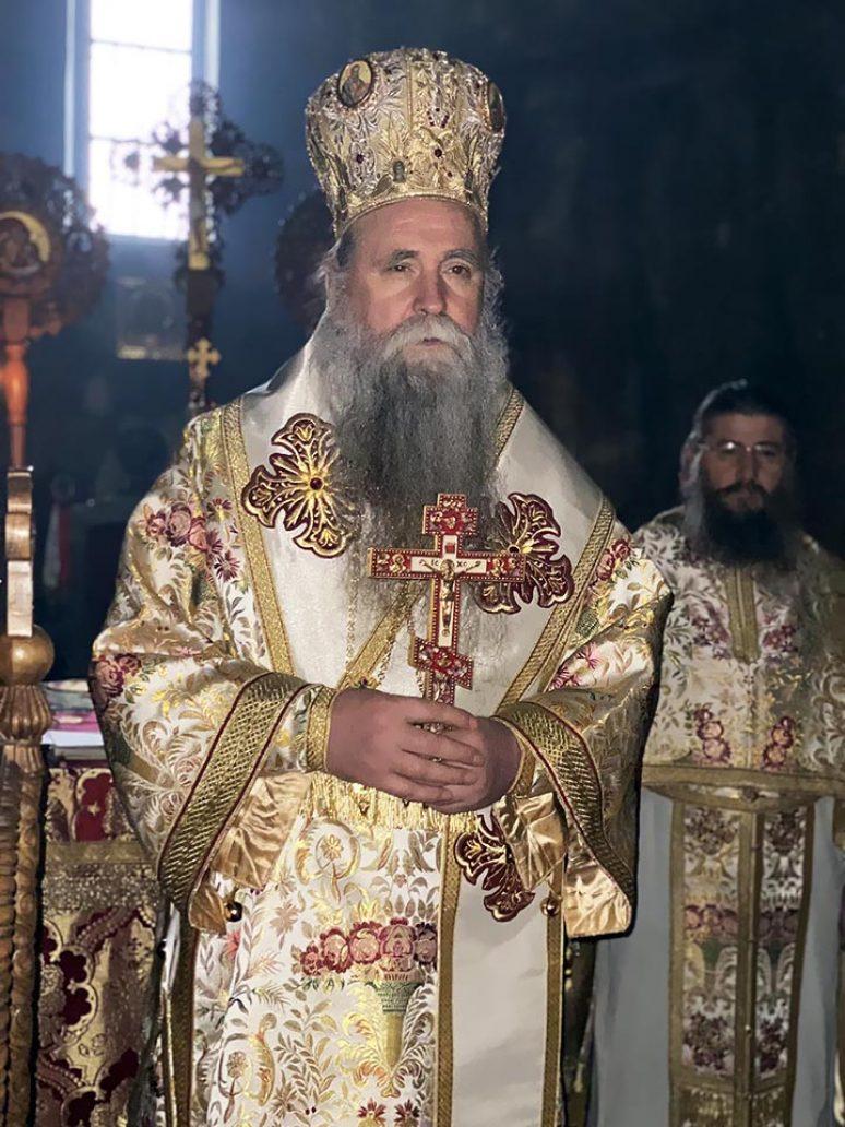 Jan 2021 Arhijerejska Liturgija Na Sabor Presvete Bogorodice U Djurdjevim Stupovima 2