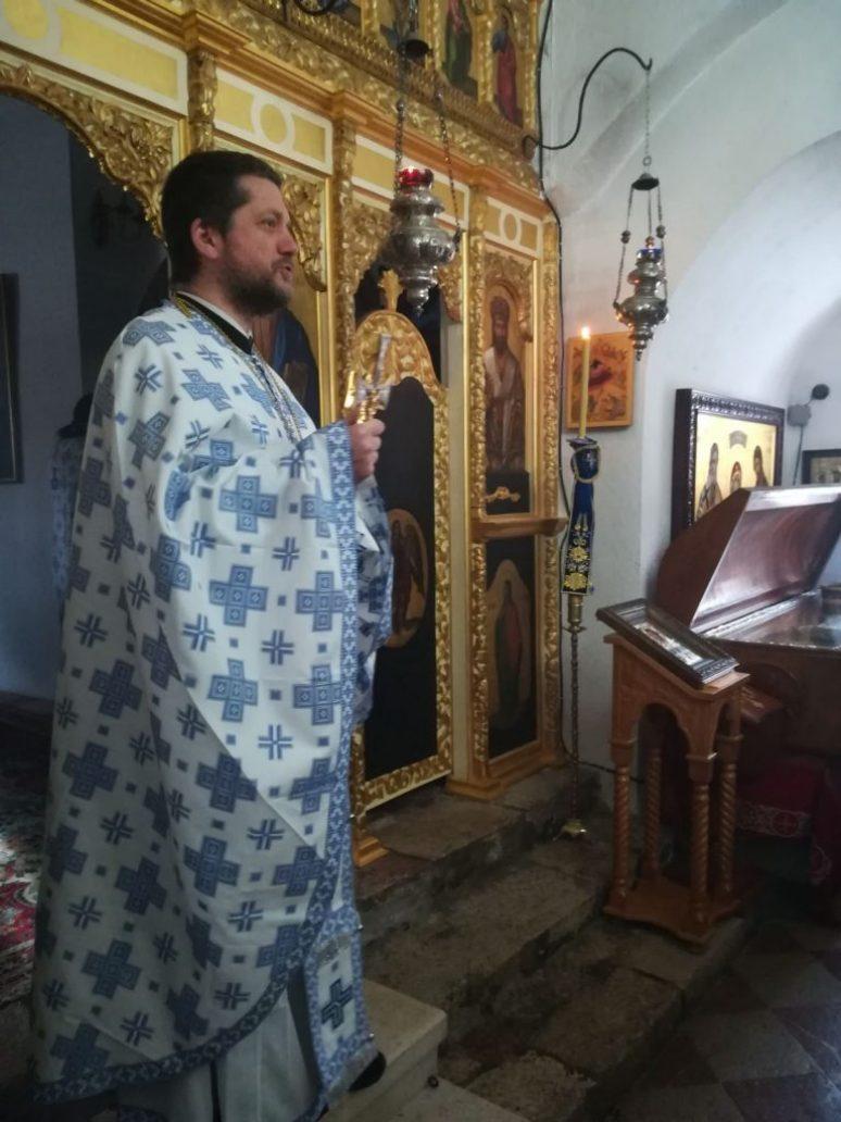 Отац Гојко Перовић, ректор Цетињске Богословије