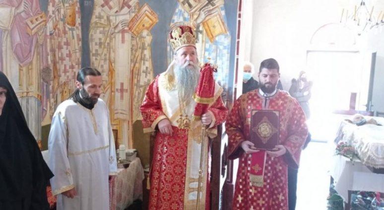 Vladika Joanikije u Barama Radovića služio zaupokojenu Liturgiju sa opijelom Vučici Ćirovom Radoviću