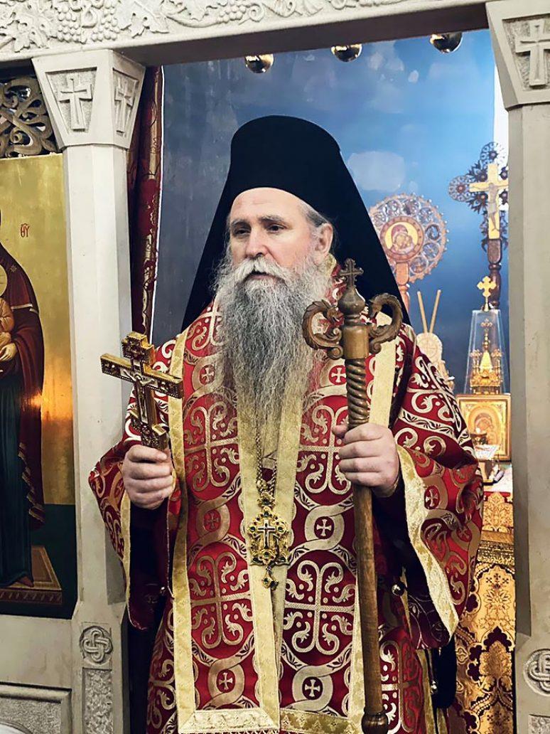 Feb 2021 Arhijerejska Liturgija Na Apostola Timoteja U Djurdjevim Stupovima
