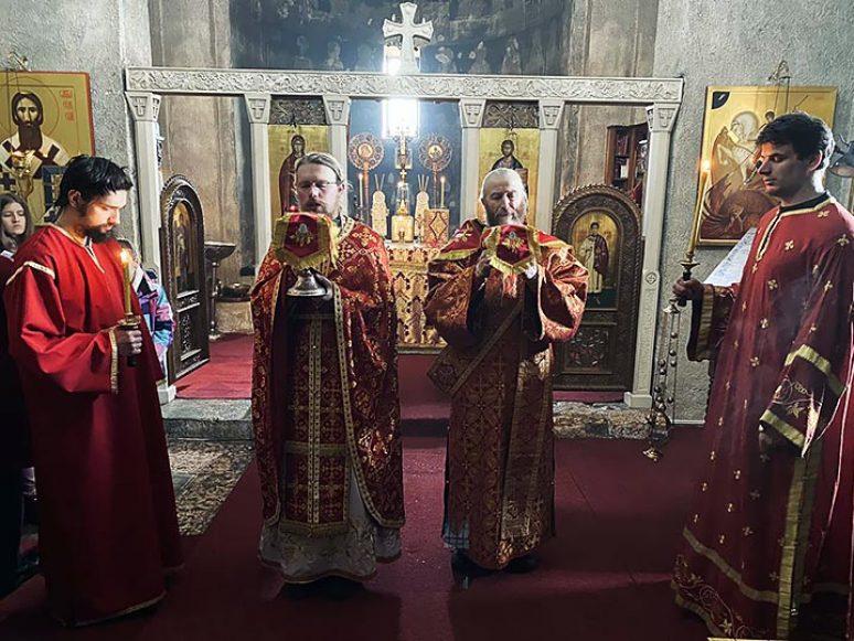 Feb 2021 Liturgija U Djurdjevim Stupovima Uy Pojanje Novoosnovanog Hora