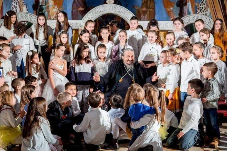 Vladika Atanasije I Djeca