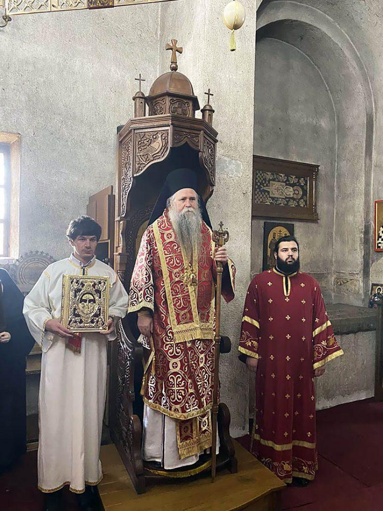 Mar 2021 Arhijerejska Liturgija I Pomen Vladici Atanasiju U Djurdjevim Stupovima