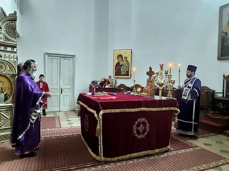 Mar 2021 Predjeosvecena Liturgija I Pomen Nato Zrtvama U Niksicu