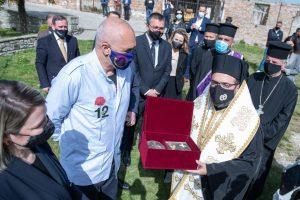 Албанској православној цркви враћене мошти Светог Јована Владимира
