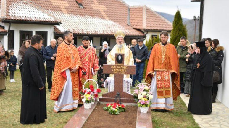 Годишњи помен игуманији Магдалини у манастиру Дубочица