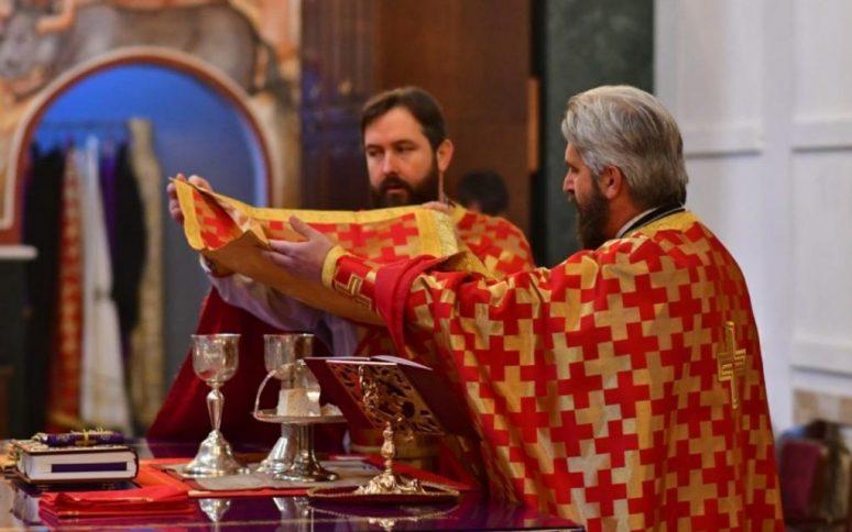Прослава Благовијести у барском Саборном храму Светог Јована Владимира
