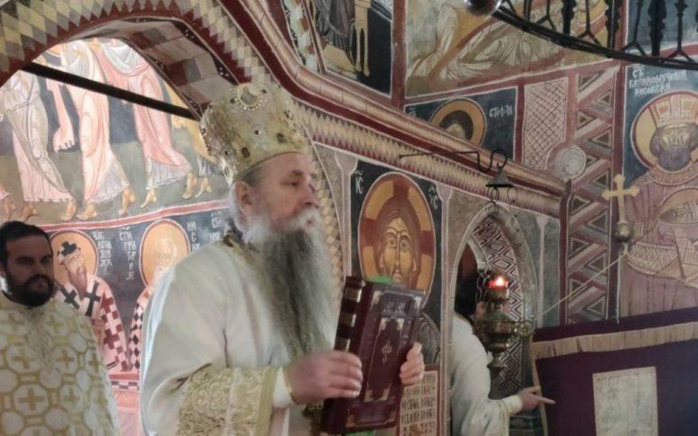 Vladika Joanikije bogoslužio u crkvi Svetog Nikole u Ulcinju