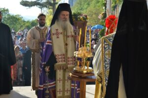 Владика теодосије Бденије, Острог