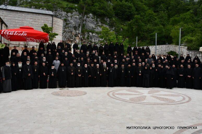Сабрање свештенства и свештеномонаштва Митрополије црногорско приморске