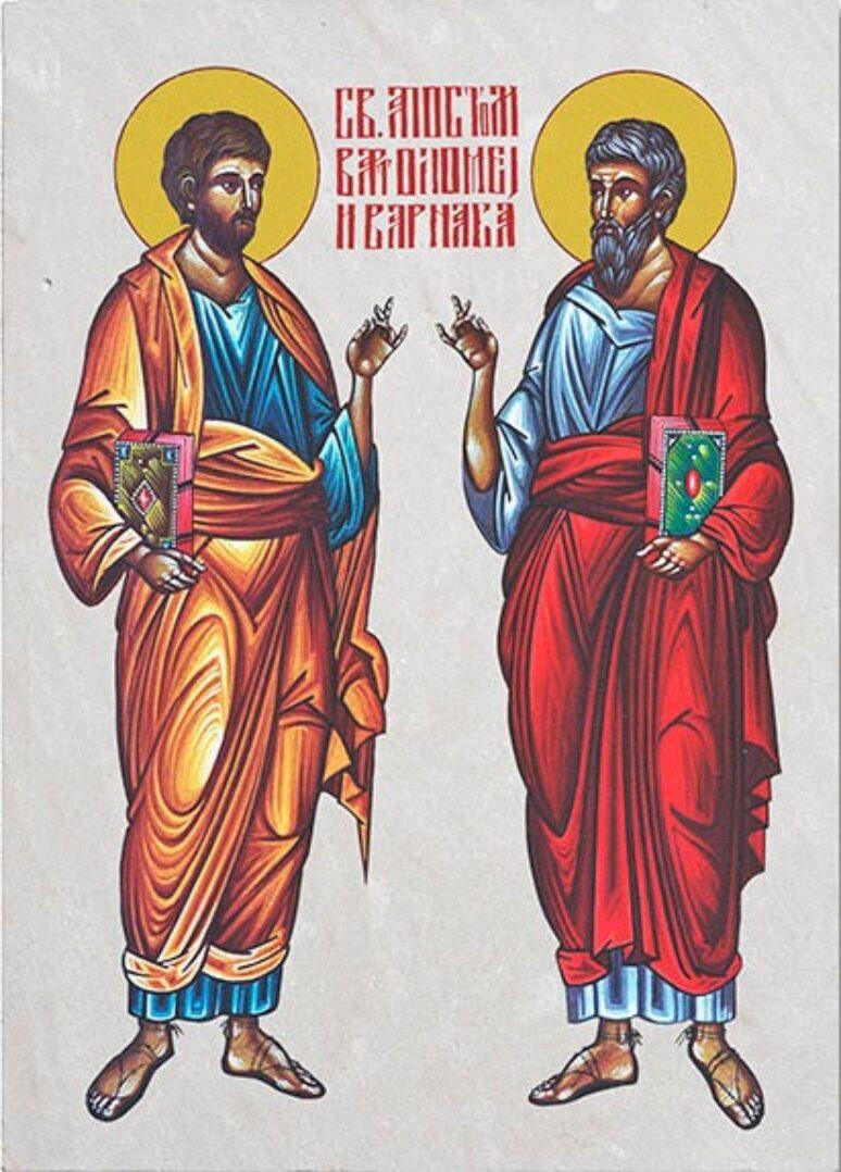 Свети апостоли Вартоломеј и Варнава
