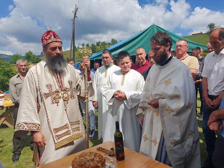 Jun 2021 Arhijerejska Liturgija I Slava Hrama U Rozajama 1