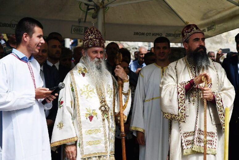 Прослављени Свети новомученици Велички и горњеплимски