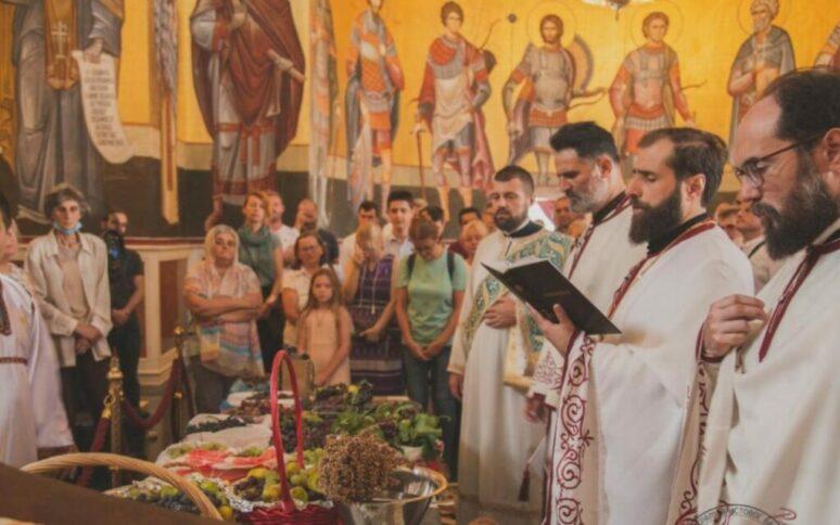 Preobrazenje Torzestveno Proslavljeno U Sabornom Hramu Hristovog Vaskrsenja U Podgorici