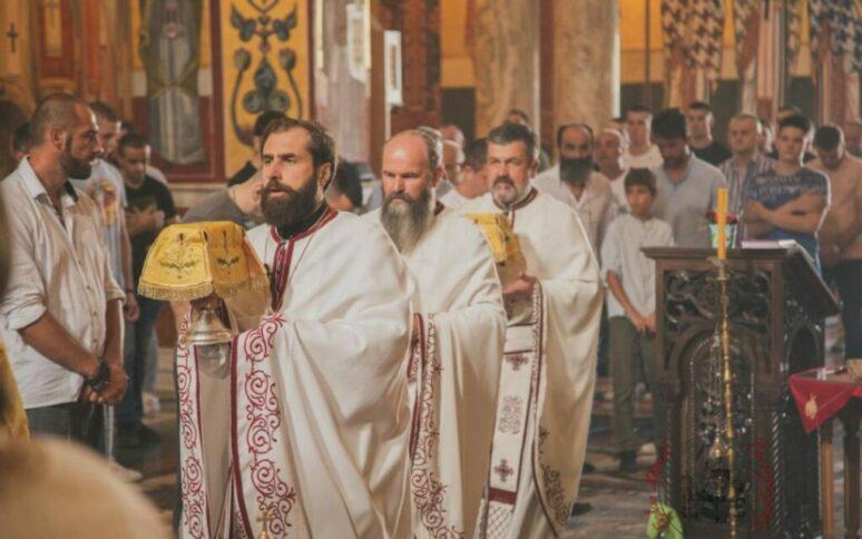 Sesta Sedmica Po Pedesetnici Torzestveno Proslavljena U Podgorickom Sabornom Hramu