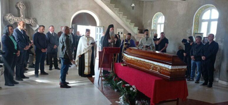 У манастиру Светог архангела Михаила сахрањен је Милан Вујисић