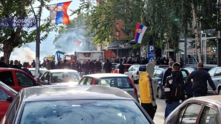 Severna Mitrovica Akcija Policije